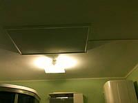 Установка отопления в ванной комнате.