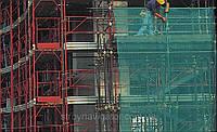 Сетка для защиты строительных лесов затенение 70% ЯМАЙКА (Италия) 2х100 м