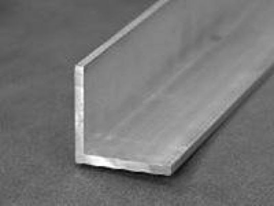 Уголок алюминиевый 75х50х7 мм 6060 Т6