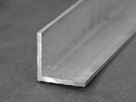 Уголок алюминиевый 20х10х1 мм 6060 Т6 профиль разносторонний АД31Т, фото 2