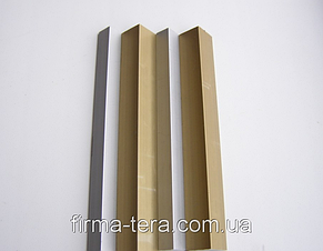 Уголок алюминиевый 20 х 20 х 1.5 мм АД31, фото 2