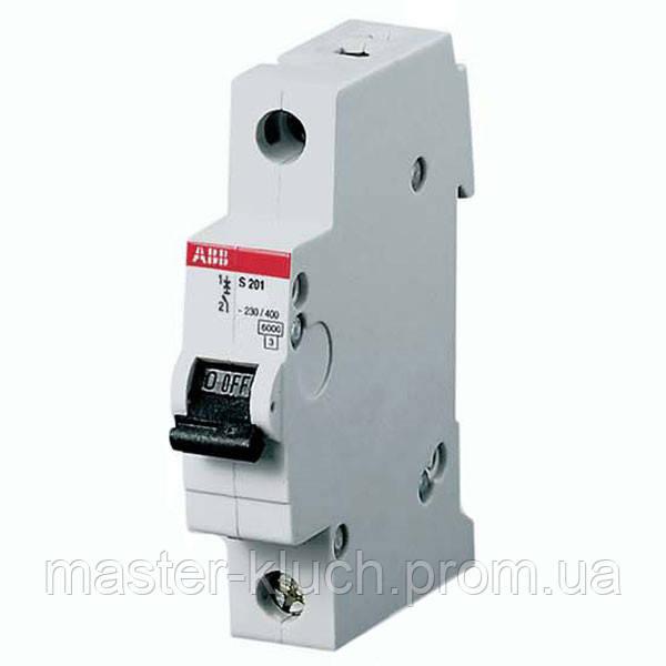 Автоматический выключатель ABB S 201 C3