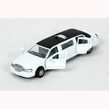 Лимузин, 1:43 (белый) (звук. эффекты) «Технопарк» (SL970WB)