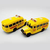 Игрушечные машинки и техника «Технопарк» (CT10-069-5) КАВЗ детский автобус, 1:43 (звук. эффекты)