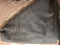 Шаль Louis Vuitton (Луи Витон) джинсовый Серый (2)