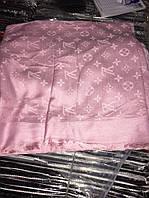 Шаль Louis Vuitton (Луи Витон) джинсовый Розовый