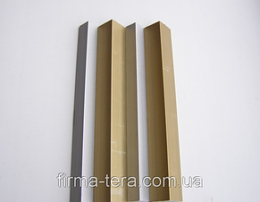 Алюминиевый профиль уголок 20 х 20 х 3 мм АД31 равносторонний 6060 Т6, фото 3