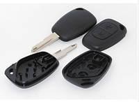 Корпус ключа с язычком, на 2 кнопки на Renault Trafic 2001->  —  291003