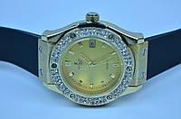 Женские часы HUBL-0T Big Bang Gold календарь, фото 1