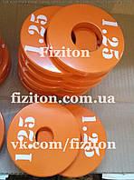 Блин (диск) стальной 1,25 кг + покраска