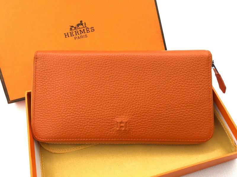 Женский кошелек Hermes (H-309) orange - ЧП Комаров в Киеве a97013b3307