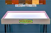 Стол для песочной анимации и терапии: Ольха 700×500