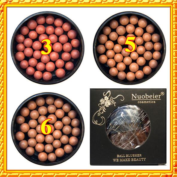 Румяна шариковые NUOBEIER, качественно и дешево,  косметика дешево оптом и в розницу через интернет магазин http://opt21.com по всей Украине.