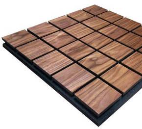 Звукопоглощающая акустическая панель «Grid 50» (50*50 см). Темная, фото 2