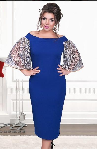 Платья женские больших размеров от ТМ Minova