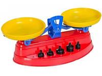 Игрушечные весы с гирьками для детей в коробке (Технок 2193)