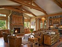 Деревянный интерьер. Основные стили и их различия