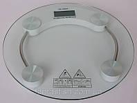 Весы электронные напольные круглые, на батарейках.150 кг. DJV HZT /0-8