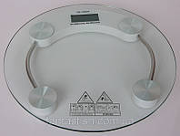Весы электронные напольные круглые, на батарейках.150 кг. DJV HZT /53-5
