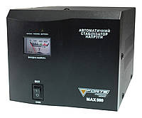 СТАБИЛИЗАТОР РЕЛЕЙНЫЙ (1 Ф) - MAX-500VA NEW (500Вт) точность 8%, вес 2.25 кг BPS