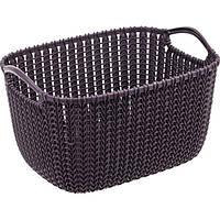 Корзина для вещей Curver Knit S фиолетовая