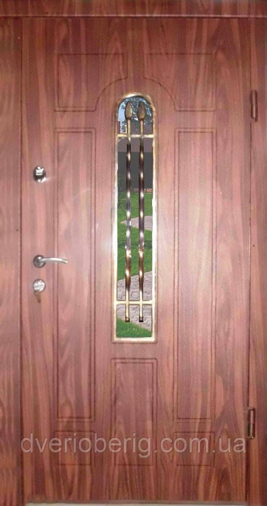 Входная дверь модель Т-1-3 217 vinorit-40 КОВКА