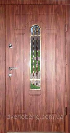 Входная дверь модель Т-1-3 217 vinorit-40 КОВКА , фото 2