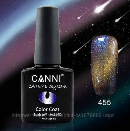 Гель-лак Canni 455 хамелеон