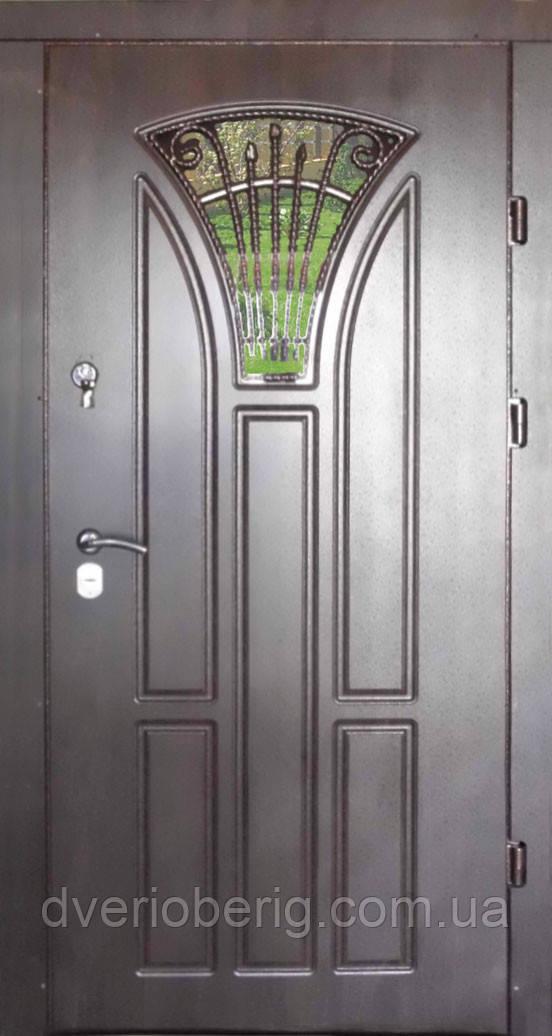 Входная дверь модель Т-1-3 186 vinorit-80 КОВКА