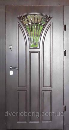 Входная дверь модель Т-1-3 186 vinorit-80 КОВКА , фото 2