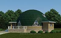 Строительство энергоэффективный купольный дом