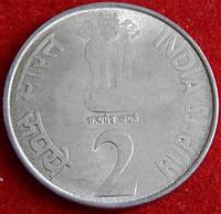Монета Индии. 2 рупии 2010 г.