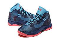 Баскетбольные кроссовки Under Armour Curry 2.5 синие