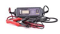 Автомобильное интеллектуальное зарядное устройство для аккумулятора 12 V Auto Welle , фото 1
