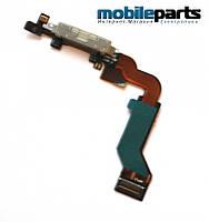 Разъем заряда со шлейфом (сharge connector) для Apple iPhone 4GS High Copy