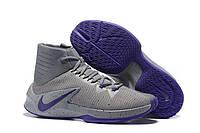 Баскетбольные кроссовки Nike Zoom Clear Out grey