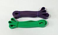 Набор петель резиновых для тренировок - 2 шт (нагрузка 16-39, 23-57 кг)