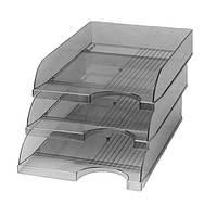 Лоток горизонтальный Кип ЛГ-04-12 дымчатый