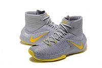 Баскетбольные кроссовки Nike Zoom Clear Out grey-yellow