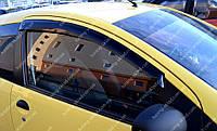 Ветровики окон Пежо 107 (дефлекторы боковых окон Peugeot 107)