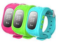 Детские часы Smart Baby Watch Q50 0.96 с GPS трекером