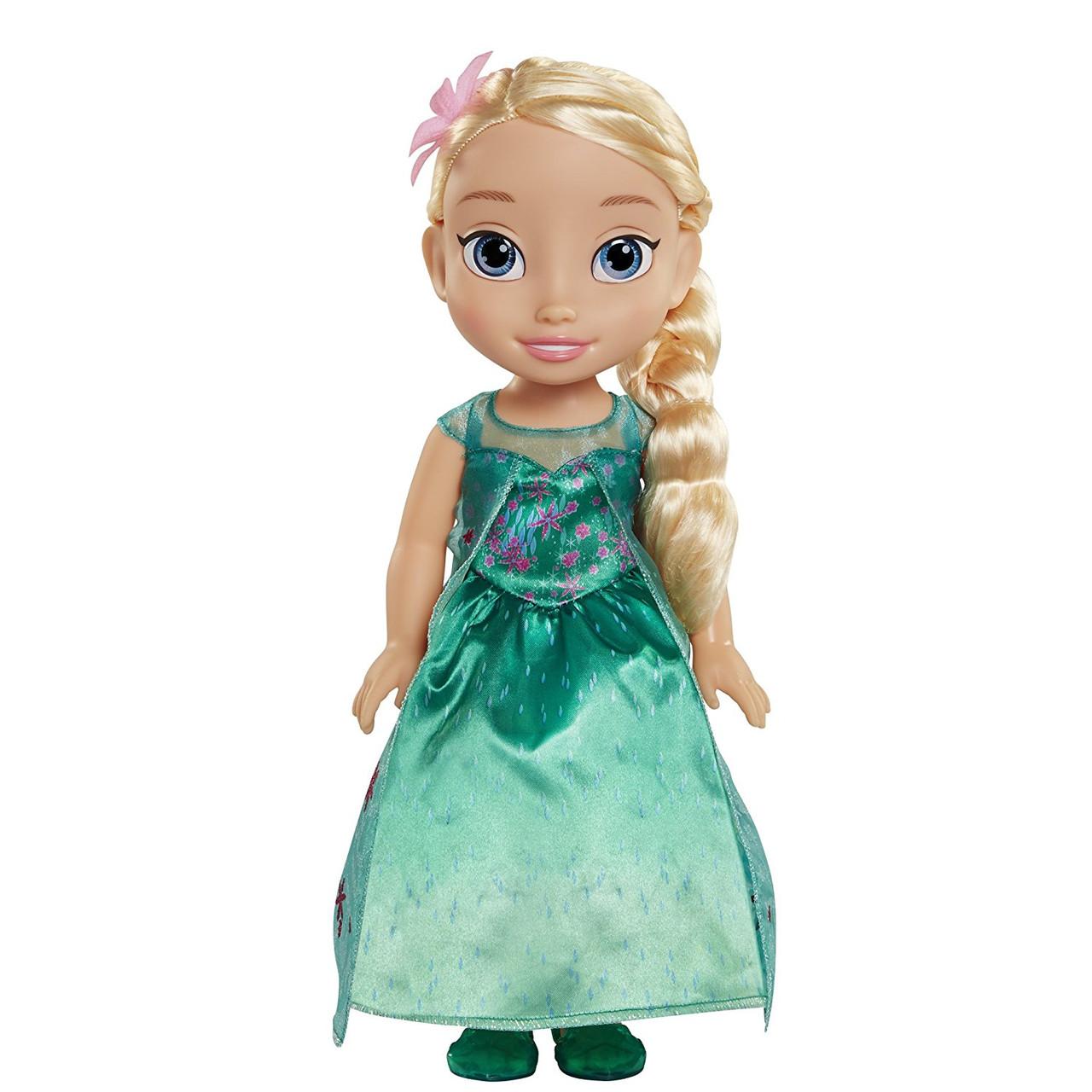 Кукла принцесса Эльза малышка Дисней Disney Princess Frozen Fever Toddler Elsa Doll