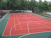 Искусственные спортивные покрытия для игровых, детских, спортивных площадок