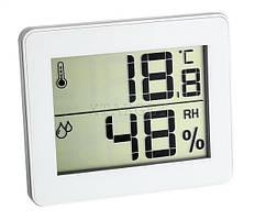 Термогигрометр цифровой TFA, 100x12x82 мм, белый
