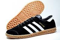 Кроссовки мужские в стиле Adidas Hamburg (Black)