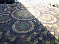 Укладка дорожек,площадок тротуарной плиткой