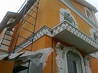 Фасадный ремонт дома