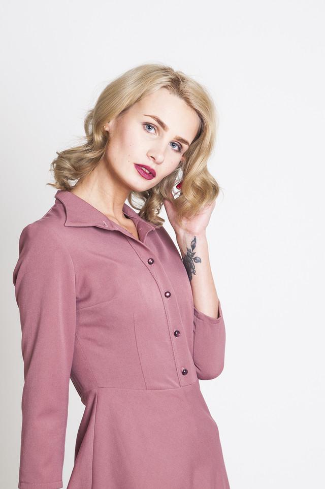 Платье П99/фламинго