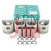 Поршень двигателя MITSUBISHI CANTER FUSO FE444/FH100 4D31/4D31T (4шт) (ME012131/ME012145) TEIKIN, фото 1