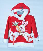 """Толстовка   для  дівчинки  1-8 років Bunnytex  """"Кролик"""""""
